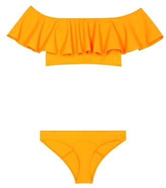 Lisa Marie Fernandez Mira Flounce bikini