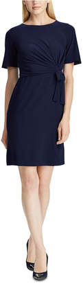 American Living Self-Tie Short-Sleeve Jersey Dress