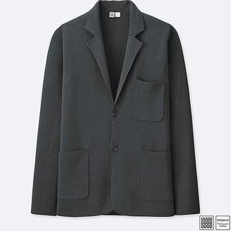 Uniqlo Men's U Extra-fine Merino Milano Ribbed Jacket