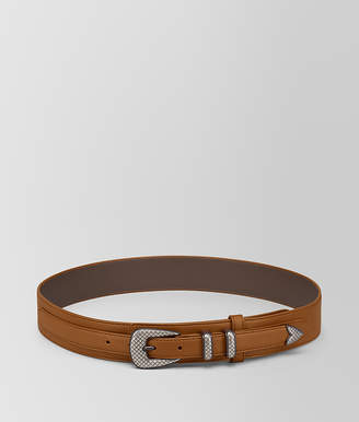 Bottega Veneta LIGHT CALVADOS FRENCH CALF BELT