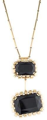 Etro Crystal Pendant Necklace