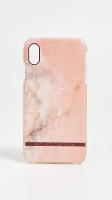 Richmond & Finch Pink Marble iPhone XS Max Case