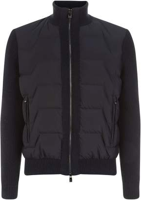 Corneliani Wool Padded Jacket