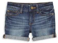 DL Premium Denim Toddler's& Little Girl's Piper Cuffed Denim Shorts
