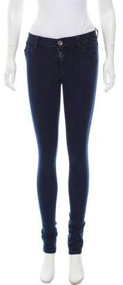 Alice + Olivia Low-Rise Jeans
