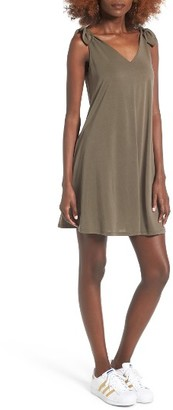 Women's Soprano Shoulder Tie Dress $39 thestylecure.com