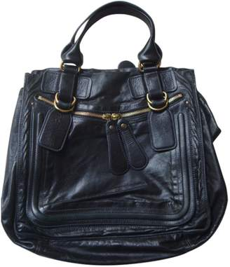 Chloé Black Leather Handbag