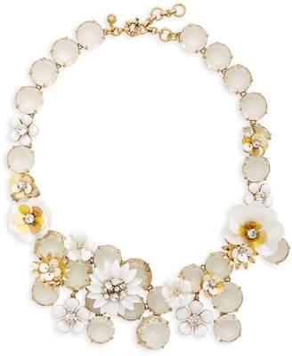 J.Crew Flower Statement Necklace