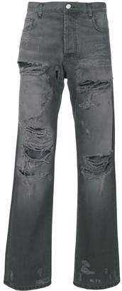 Faith Connexion distressed regular jeans