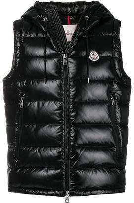 Moncler Lanoux hooded vest