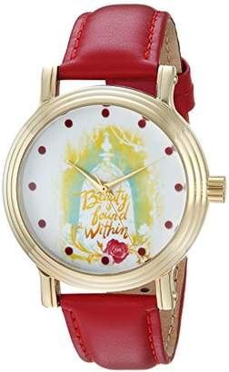 Disney Women's 'Beauty' Quartz Metal Casual Watch