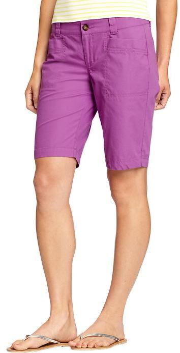 "Women's Lightweight Canvas Bermudas (10"")"