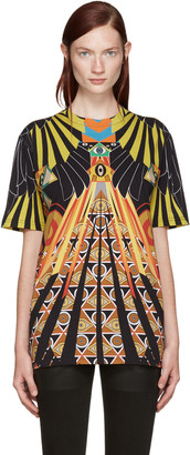 Givenchy Multicolor Optical Wings T-Shirt
