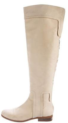 Maiyet Leather Over-The-Knee Boots