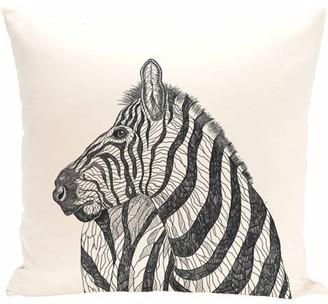 "Generic Simply Daisy Animal Print Decorative Pillow, 16"" x 16"""
