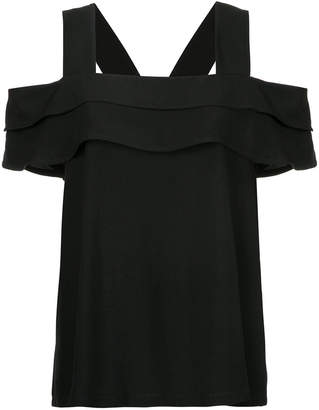 Taylor Compilation cutout shoulder top