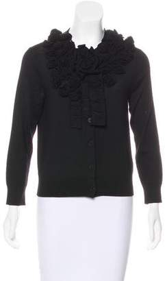 HUGO BOSS Boss by Embellished Button-Up Cardigan