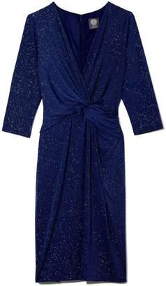 Glitter Twist-waist Dress