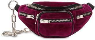 Alexander Wang Mini Attica Velvet Belt Pack