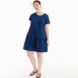 J.Crew Universal Standard for poplin drop-waist dress