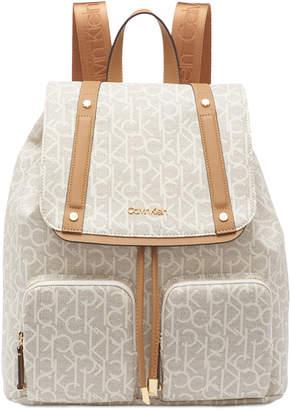 Calvin Klein Hudson Cargo Signature Backpack