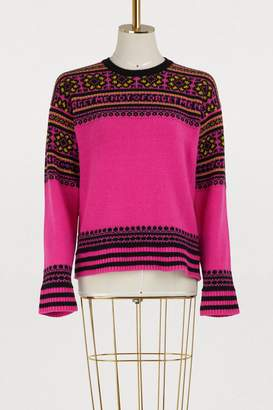 RED Valentino Forget Me Not jacquard sweater