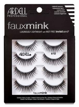Ardell Faux Mink 812 Lashes - Pack of 4