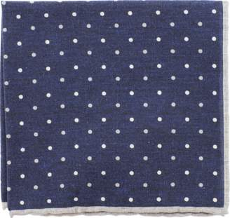 Eleventy Pocket Square With Polka Dots