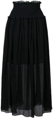 Zimmermann high waisted maxi skirt