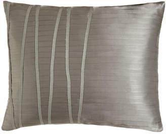 "Donna Karan Home Reflection Pleated Pillow, 16"" x 20"""