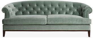 One Kings Lane Wilshire Sofa - Sage Velvet
