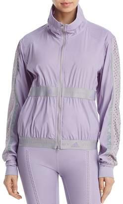 adidas by Stella McCartney Run Mesh-Inset Jacket