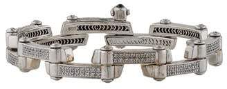 Charriol 18K Diamond 2000 Millennium Tennis Bracelet