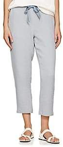 Raquel Allegra Women's Cotton Gauze Drawstring Pants