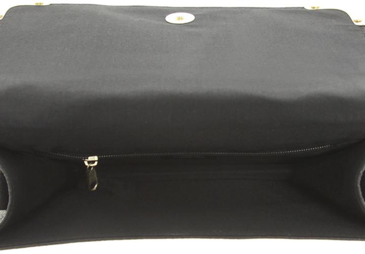 Asos Quilted Metal Corner Cross Body Bag