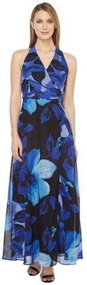 Christin Michaels - Braeburn Chiffon Maxi Dress Women's Dress $119 thestylecure.com