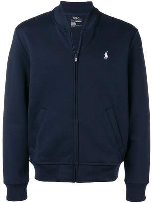 Polo Ralph Lauren logo zipped sweatshirt