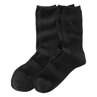 Ralph Lauren Cable-Knit Trouser Sock 2-Pack