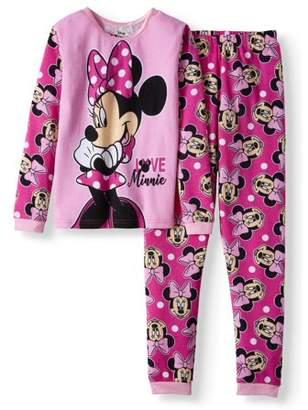 Minnie Mouse Girls' thermal 2-Piece underwear set