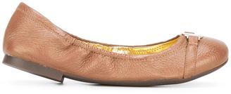 Lauren Ralph Lauren round toe ballerinas $119.72 thestylecure.com