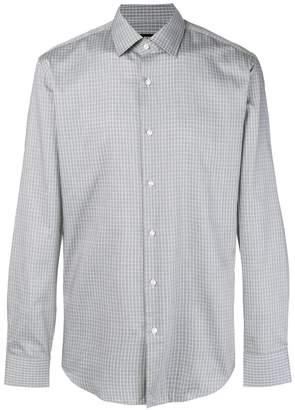 HUGO BOSS checked classic shirt