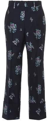 Gucci Flowers fil coupé pants