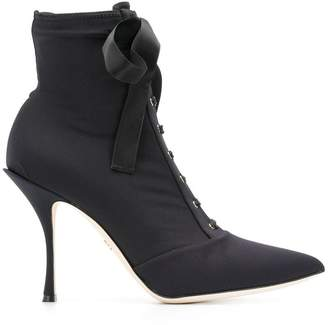 Dolce & Gabbana Lori stretch jersey ankle boots
