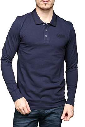 Redskins Men's SLYER MEW Polo Shirt, (Navy Blue), Small