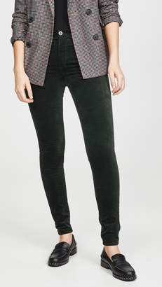 AG Jeans The Farrah Velvet Skinny Pants