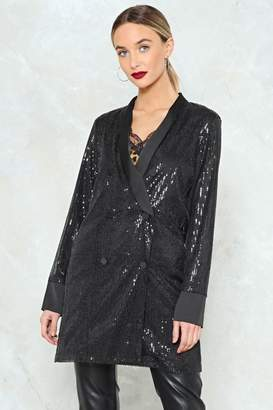 Nasty Gal The Boss Sequin Blazer