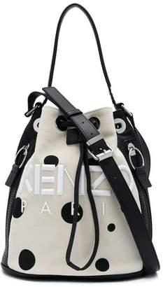 Kenzo Kombo Dots bucket bag