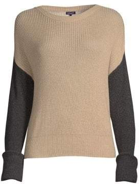Splendid Calico Color Block Sweater