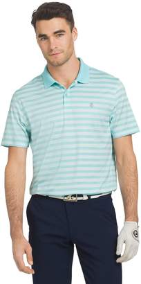 Izod Big & Tall Ace Classic-Fit Striped Performance Golf Polo