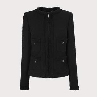 LK Bennett Charlee Black Jacket